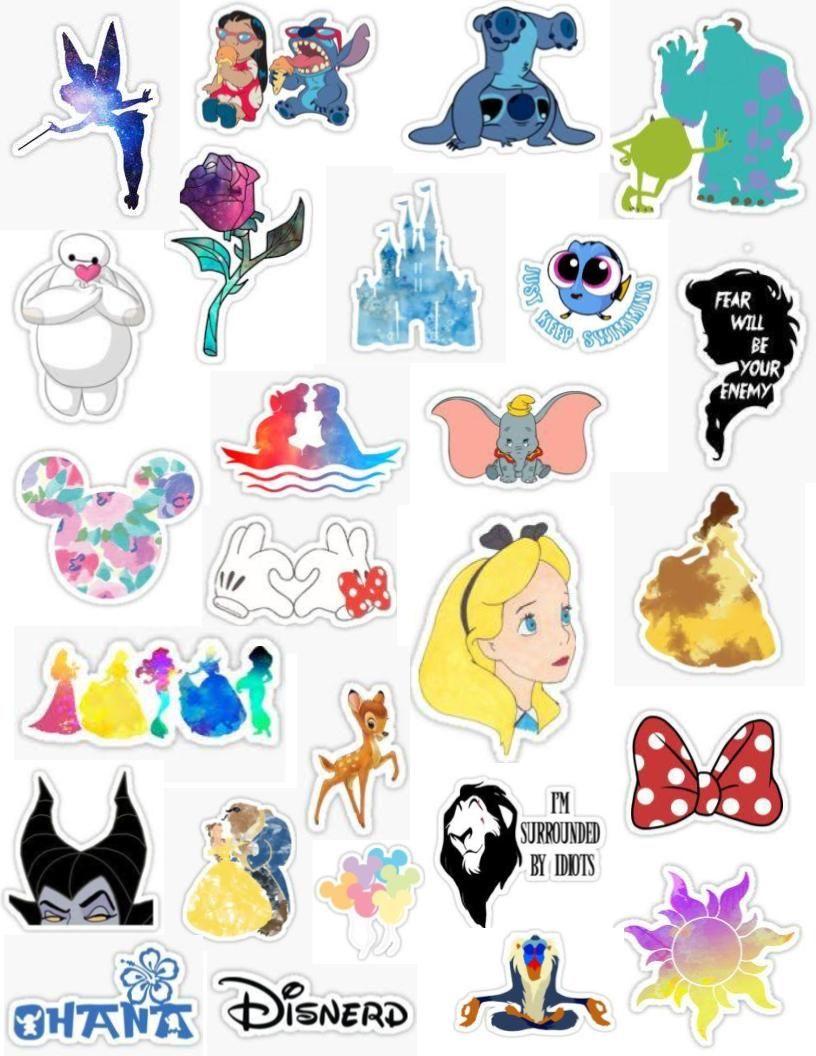 Walt Disney sticker pack tumblr stickers aesthetic tinker.