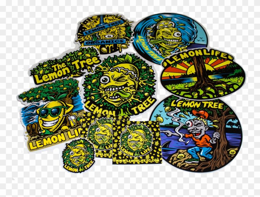 Lemon Life Sticker Pack.