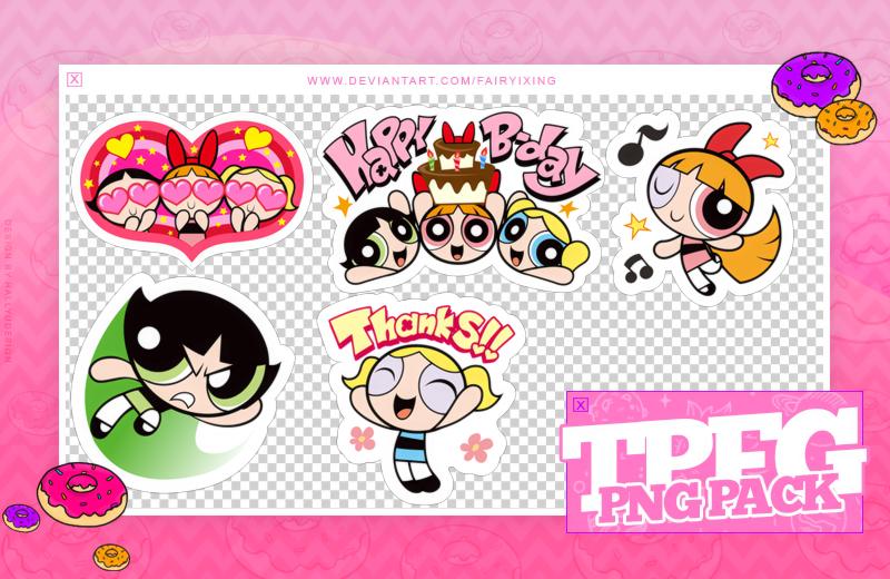 PACK PNGS #29] The Powerpuff Girls.