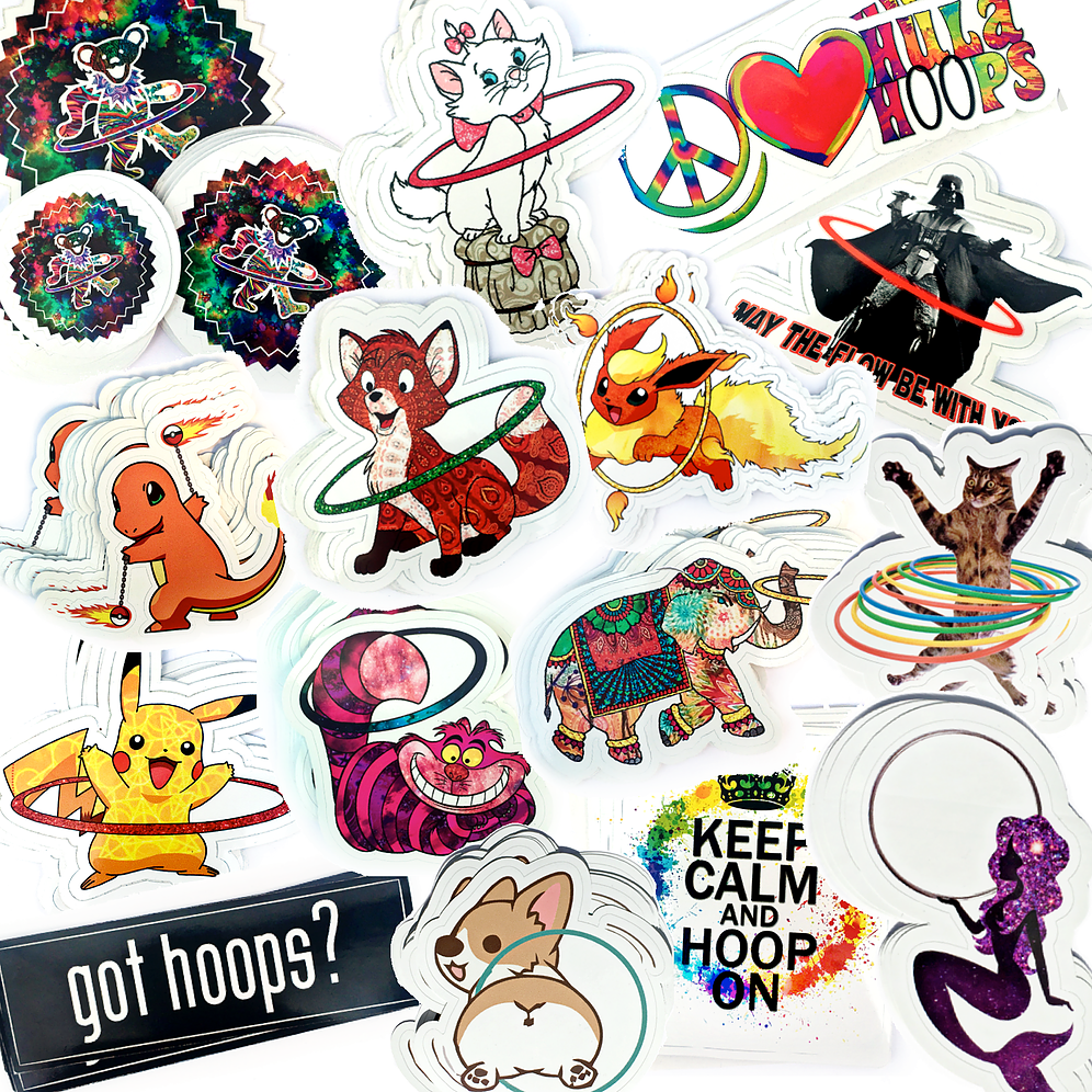 Sticker Packs (Choose your own!).