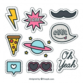 Sticker Vectors, Photos and PSD files.