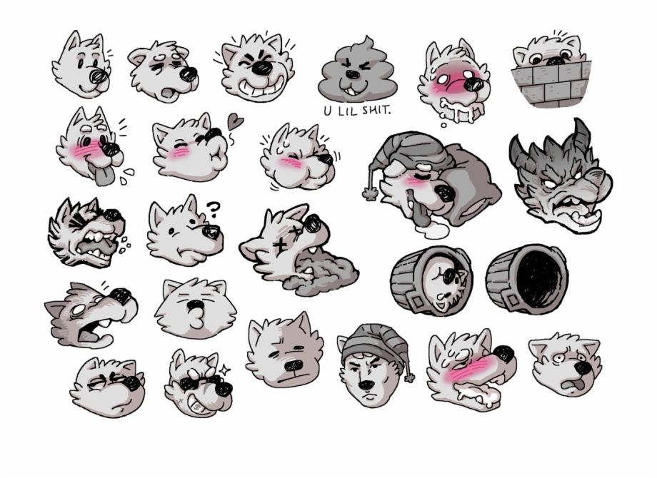 Coal Telegram Sticker Pack.