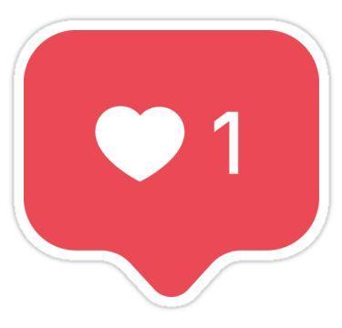 Instagram Like Sticker.