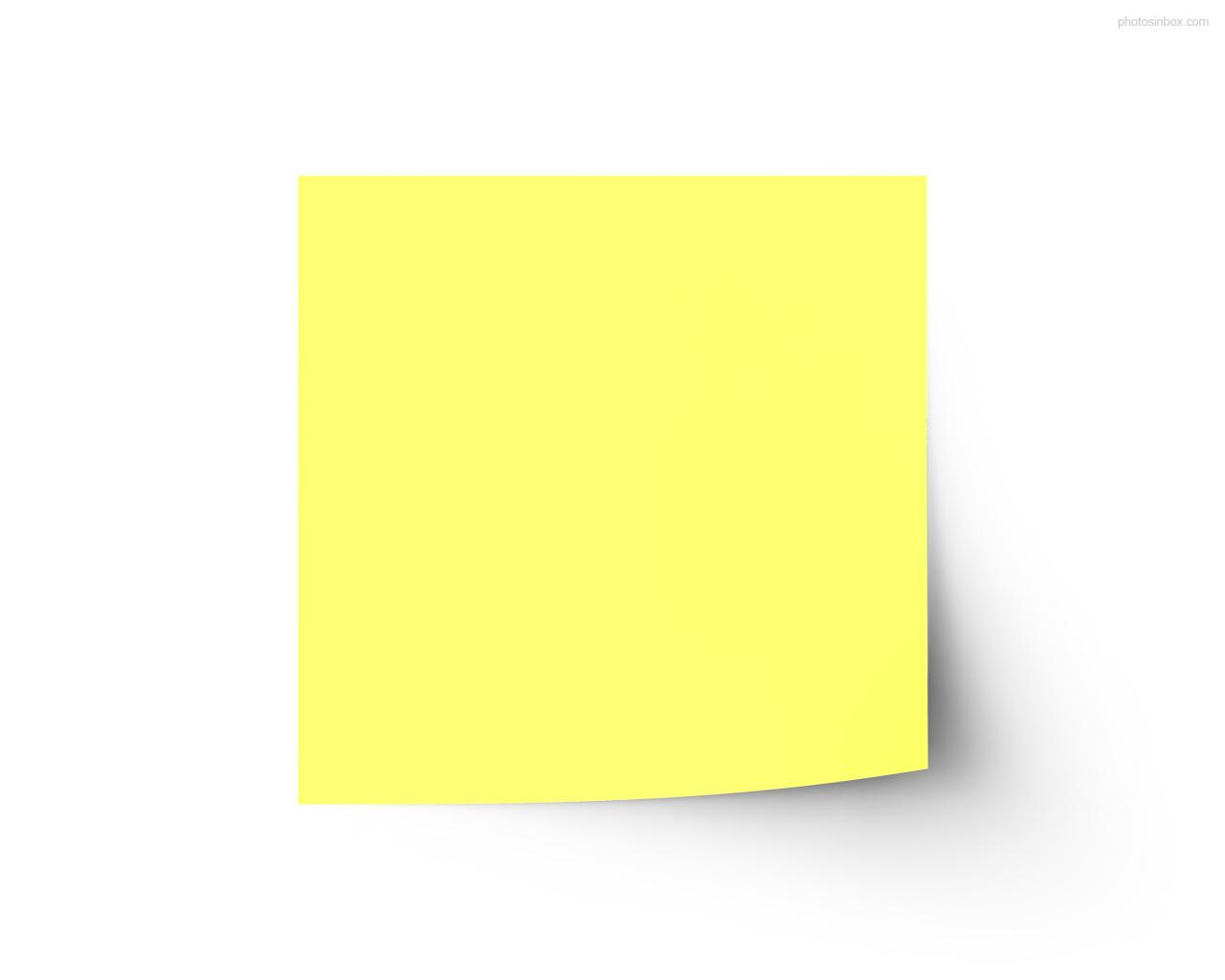 Sticky note clipart 3.