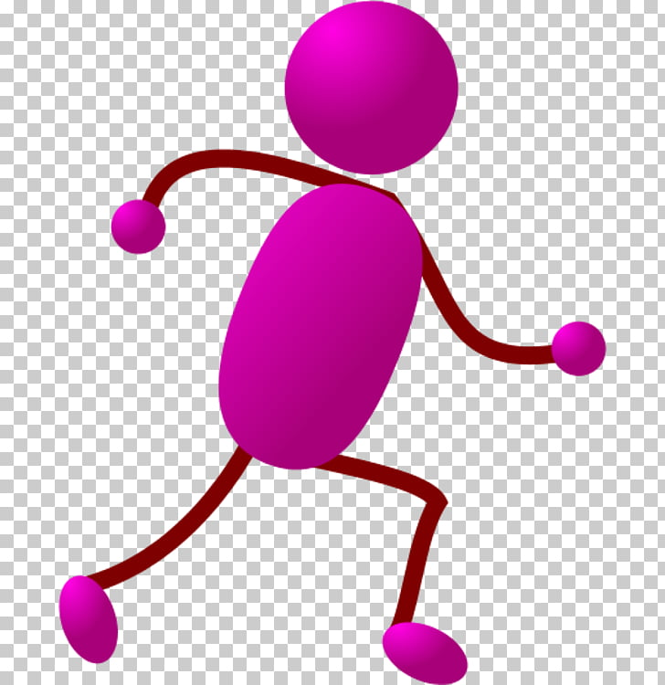 Stick figure Running , Stickman Running s PNG clipart.