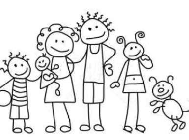 41+ Stick Figure Family Clipart.