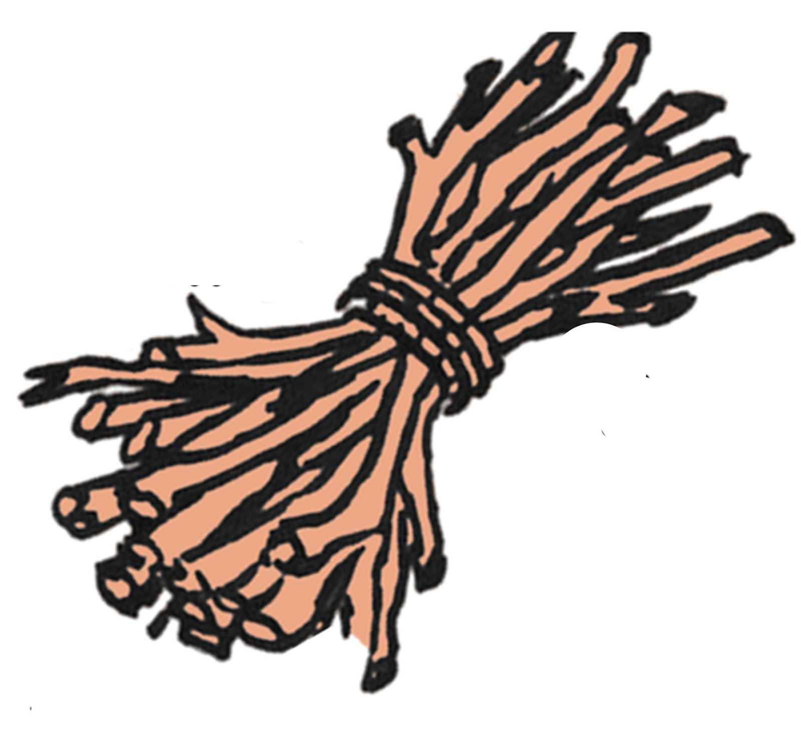 Bundle Of Sticks Clipart.