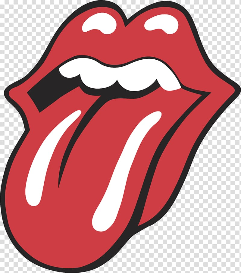Rolling Stones logo, The Rolling Stones Tongue Logo Sticky.