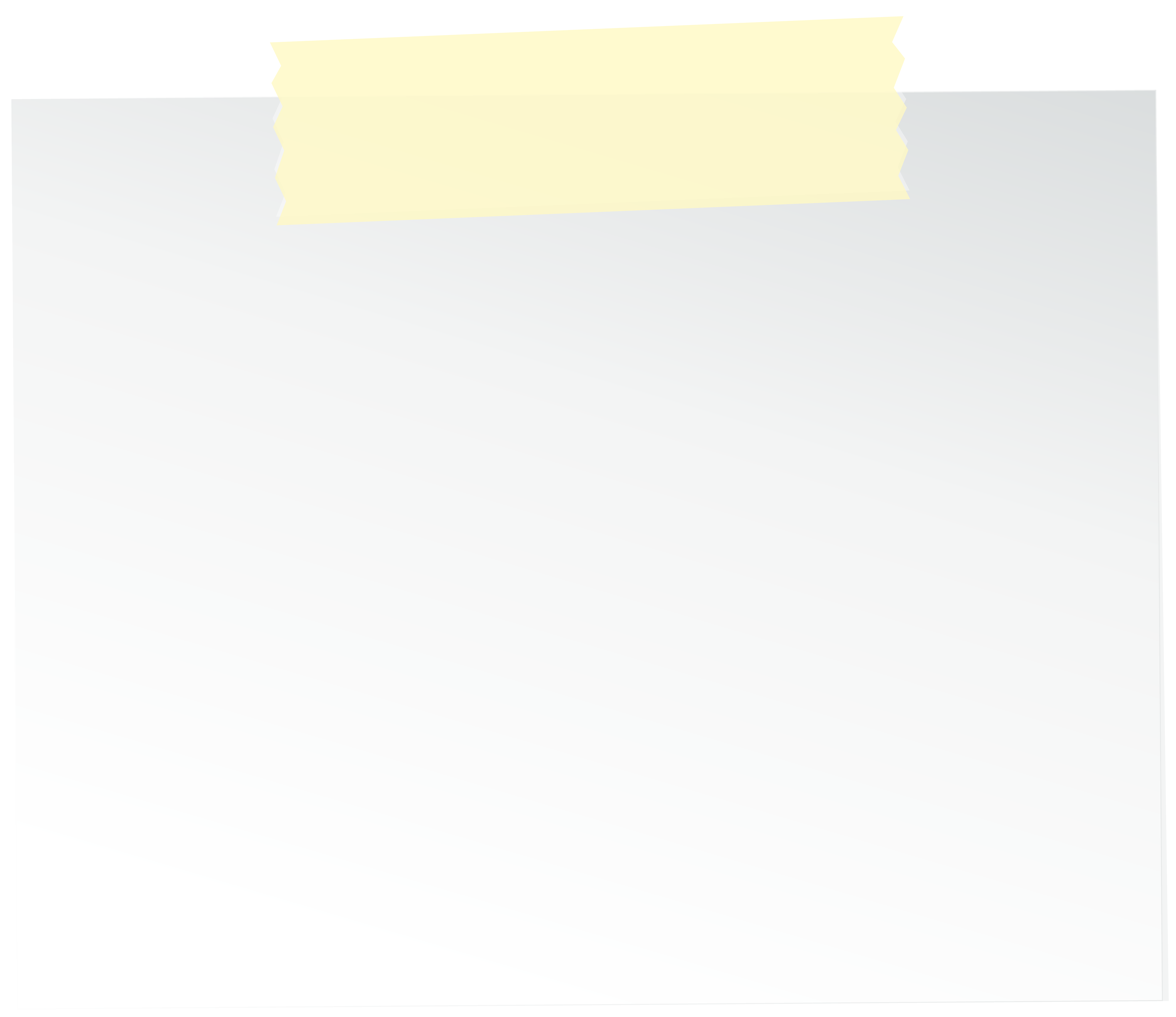 Sticky Note PNG Clipart.