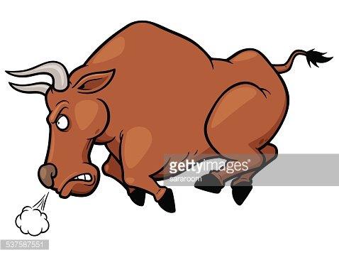 Bull Clipart Image.