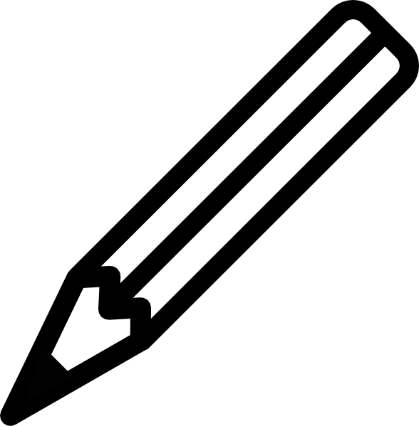 Pencil Clip Art at Clker.com.