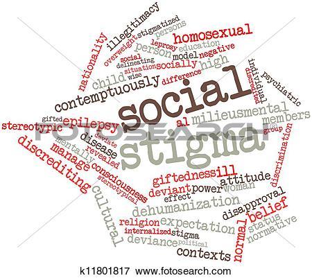 Stock Illustration of Social stigma k11801817.