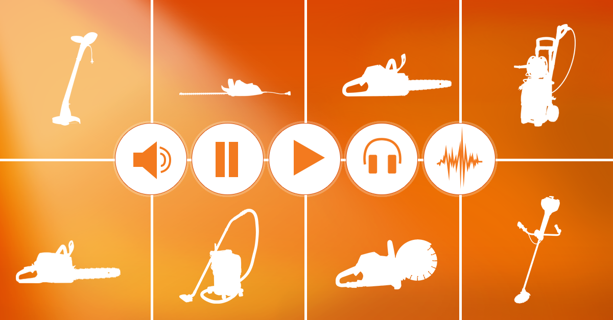 SoundCloud tracks with STIHL sounds.