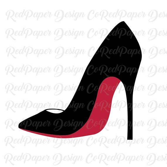 High Heels SVG, Cut File, Stiletto Clipart, SVG, DXF, Jpg.