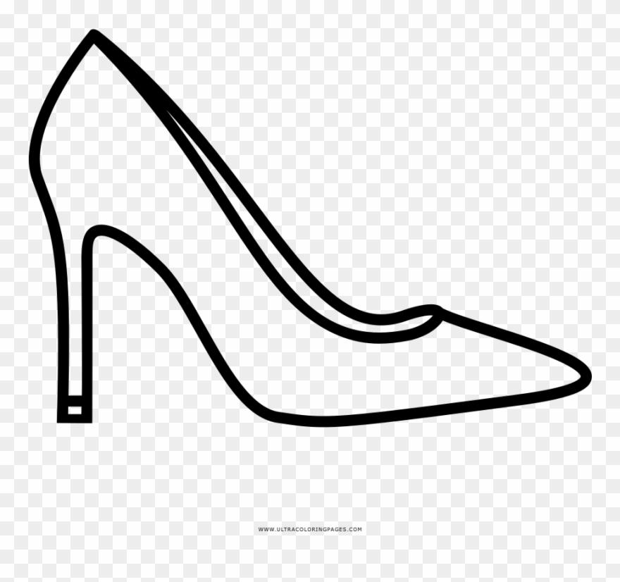Drawn Shoe Stiletto Heel Clipart (#2866047).
