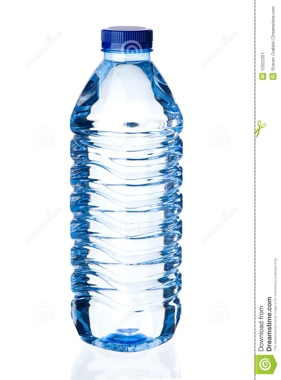 Bottle Of Water Stock Image.