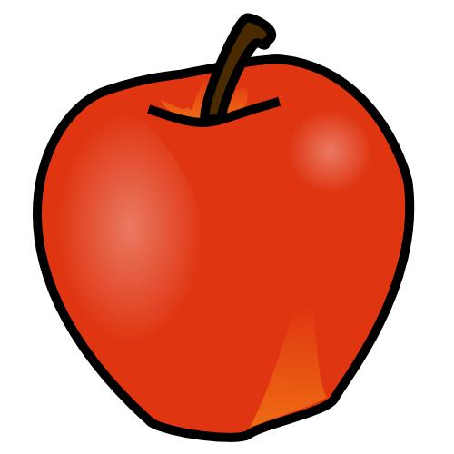 Stills apple clipart.