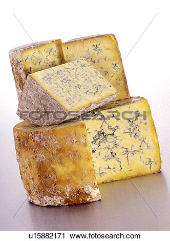 Stock Photography of Stilton cheese u15882171.