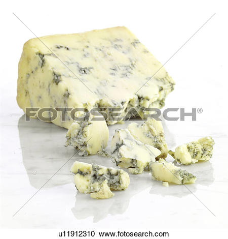 Stock Photography of Blue Cheese, Stilton u11912310.