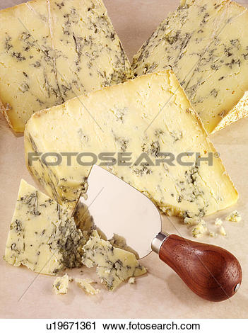 Stock Photography of English Stilton Cheese u19671361.