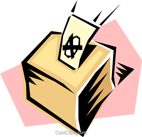 Wahlurne clipart.