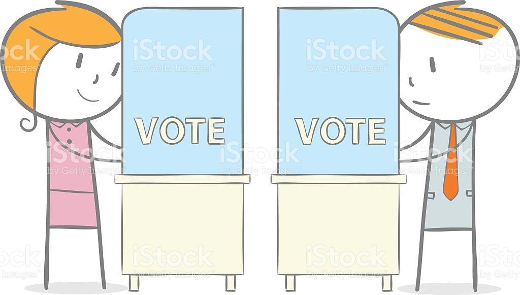 Stimmabgabe Vektor Illustration 512527026.