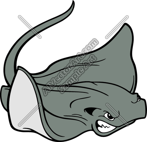 stingray clipart clipground