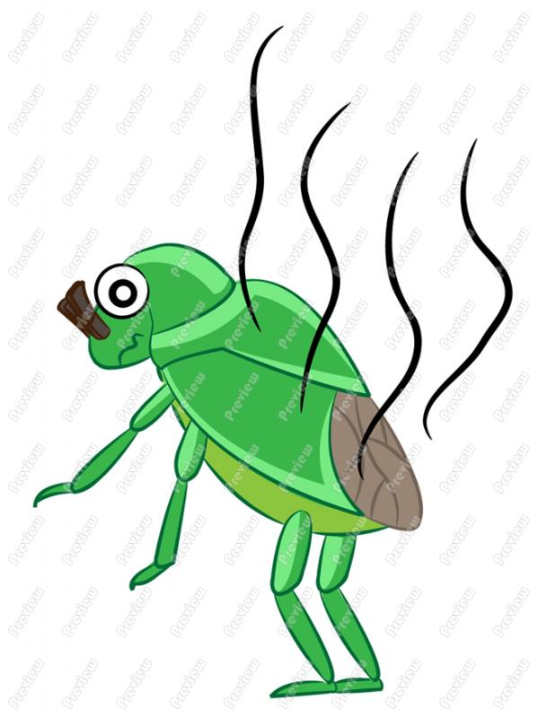 Stink Bug Clipart.