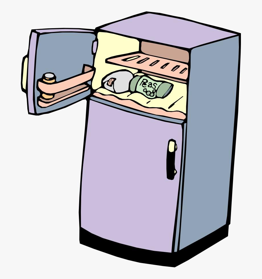 Stinky Refrigerator Clip Art.