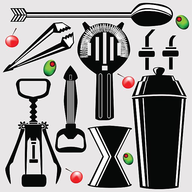 Drink Stirrer Clip Art, Vector Images & Illustrations.