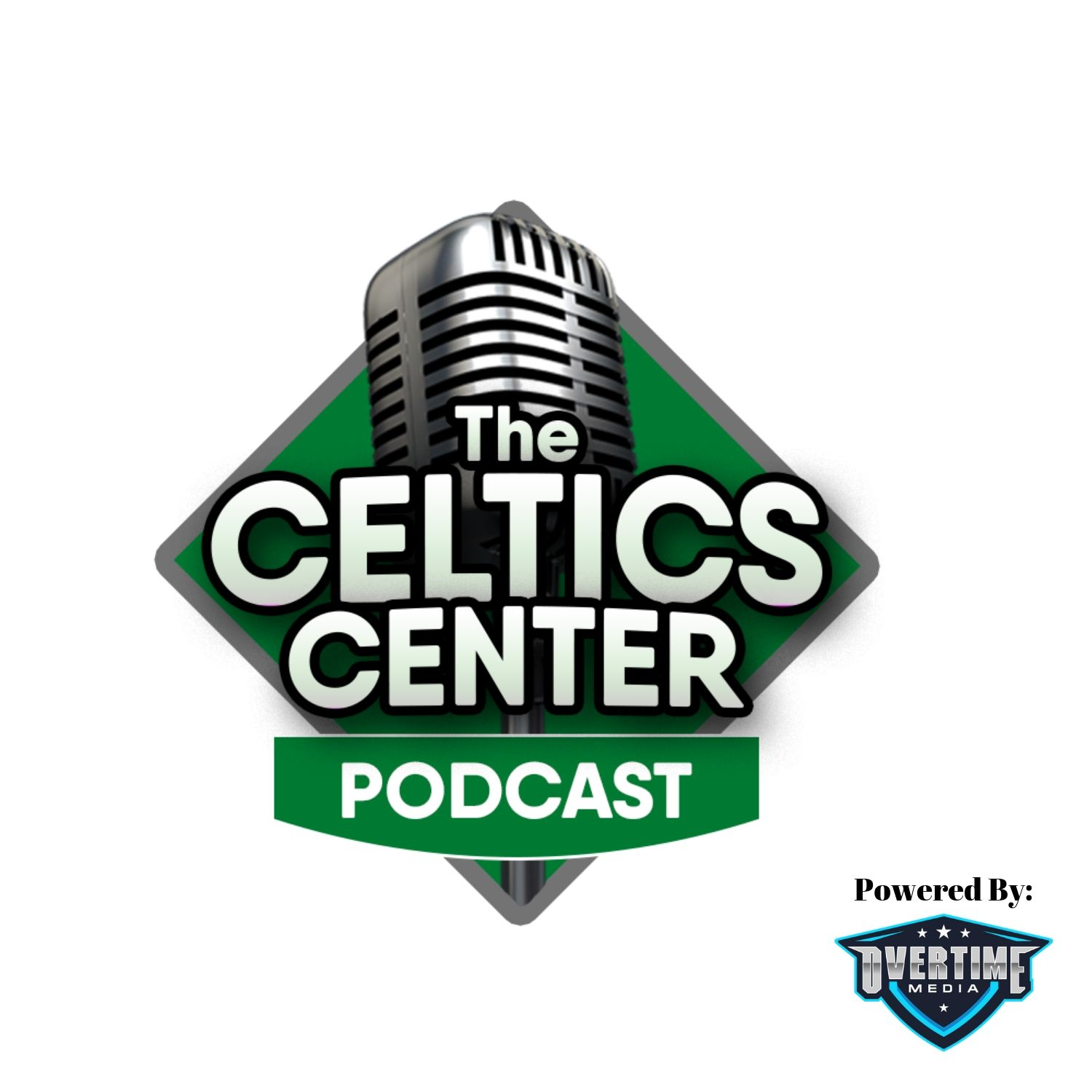 The Celtics Center: Boston Celtics.