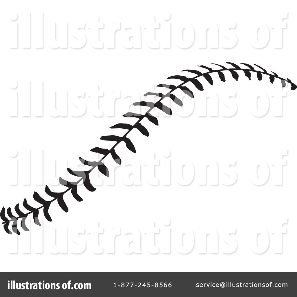Baseball stitches clipart free.