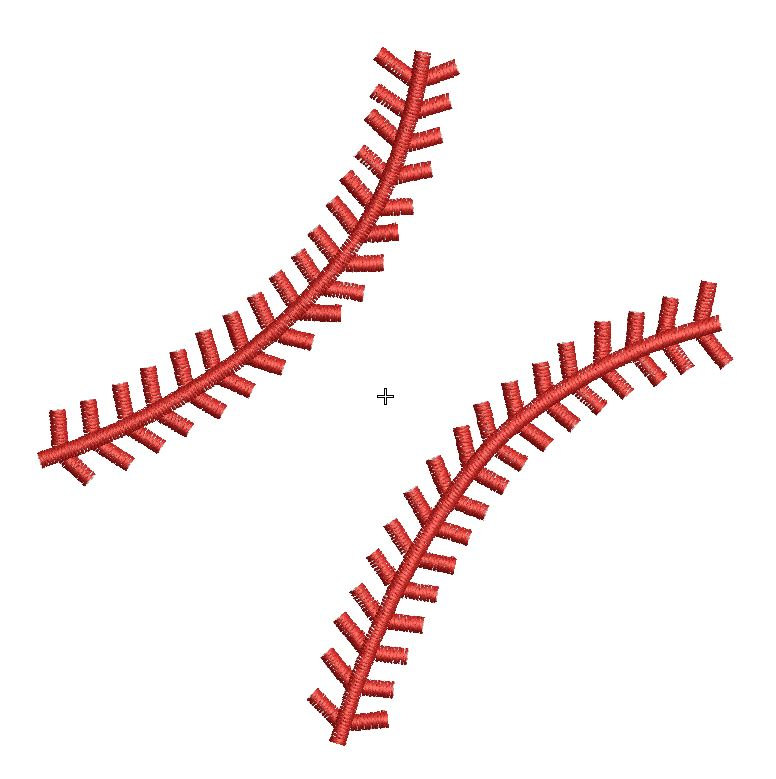 Baseball Stitches Clipart Free.