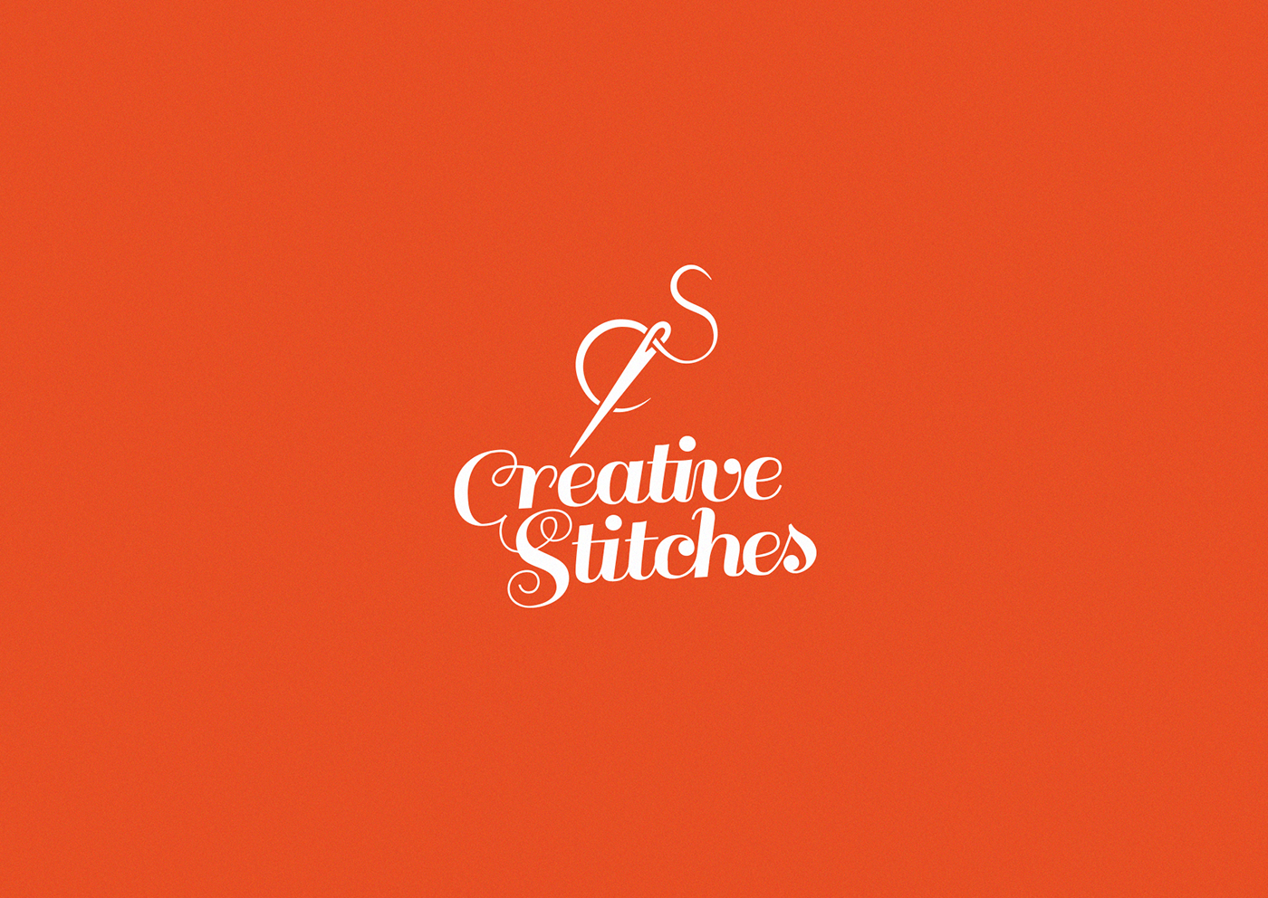 Creative Stitches Logo on Behance.