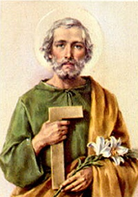 Of St Joseph The Worker As Is The Lily A Symbol Of St Joseph S.