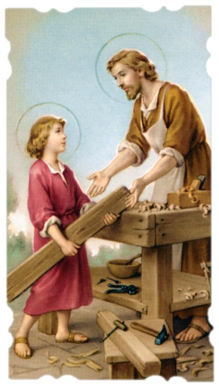St. joseph the worker clipart.