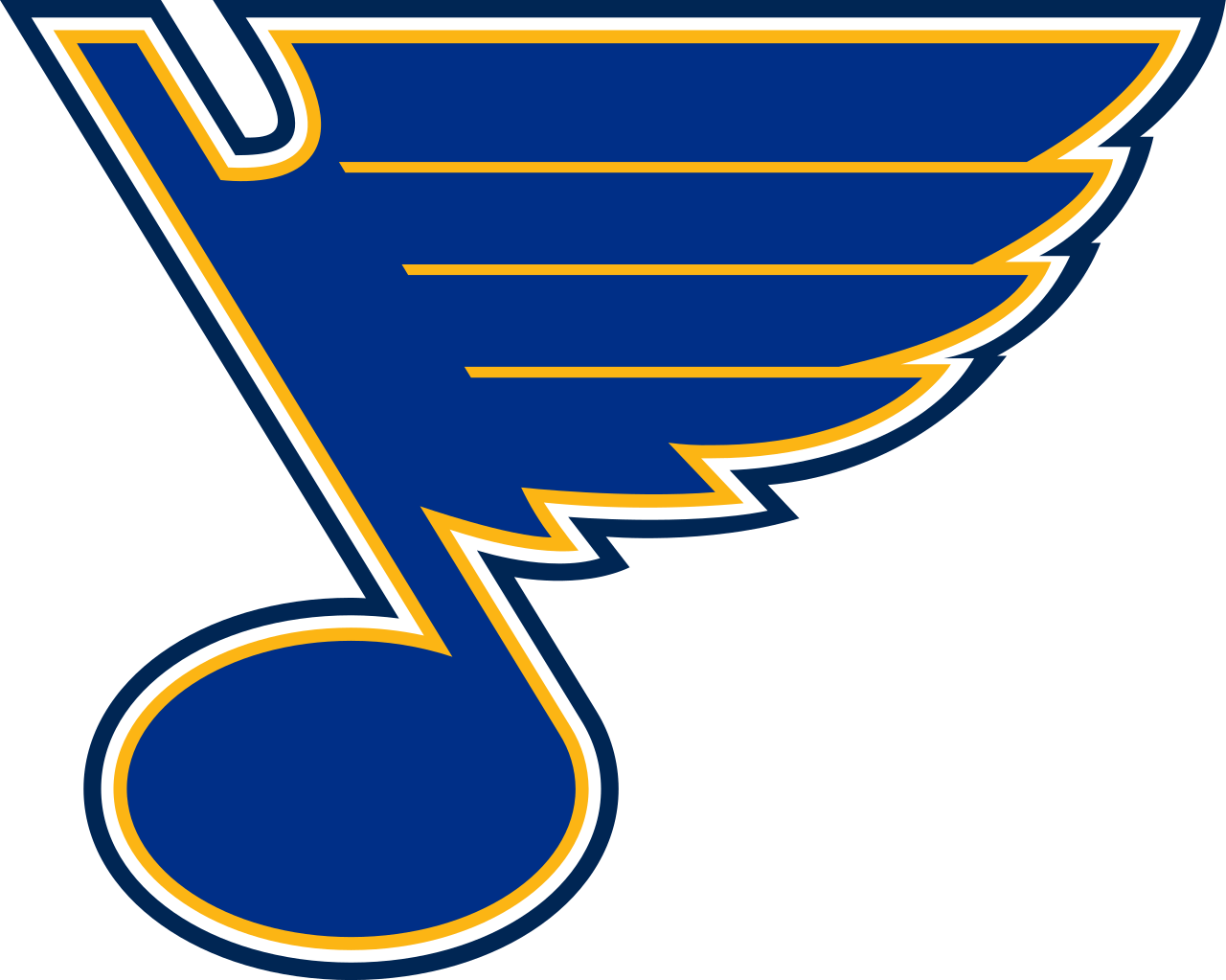 St. Louis Blues Official Logo transparent PNG.