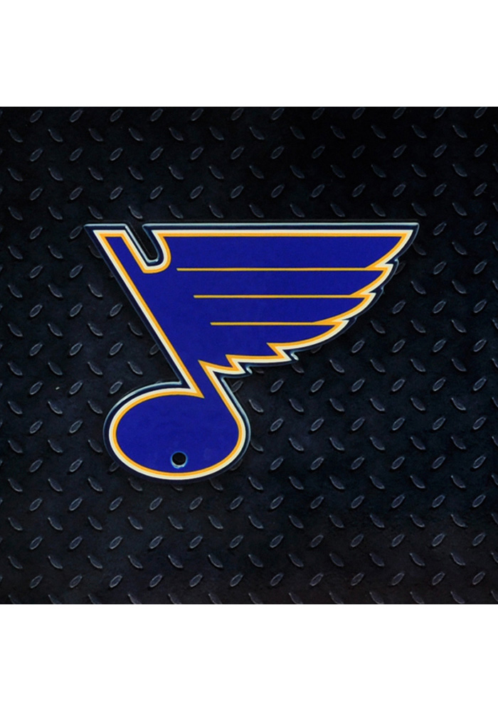 St Louis Blues Steel Logo Magnet.