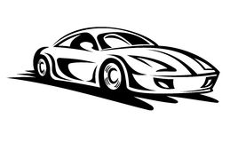 Moving race car clipart.