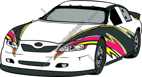 Rp006 Clipart And Vectorart Vehicles Racing Stock Cars