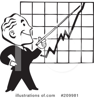 Stock Graph Clipart.