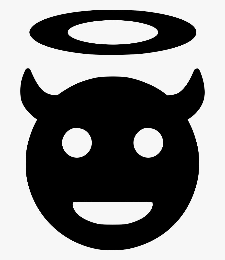 Clipart Library Stock Devil Vector Icon.