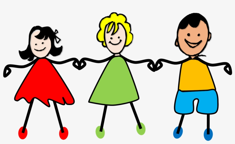Kids Holding Hands Png Clipart Royalty Free Stock.