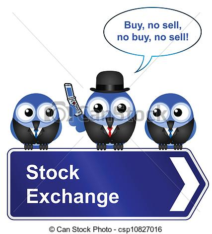 Clipart stock exchange.