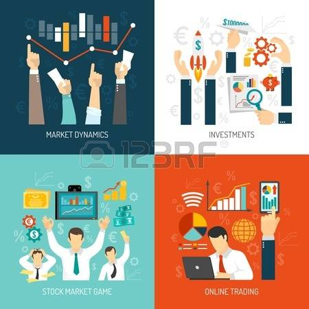 4,259 Stock Exchange Trading Stock Vector Illustration And Royalty.