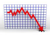 Clip Art of Stock market crash k2423772.