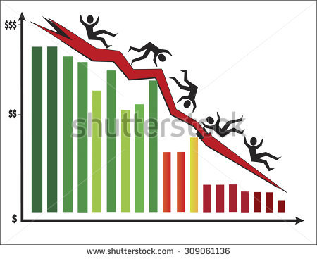 Stock Market Crash Stock Vectors, Images & Vector Art.