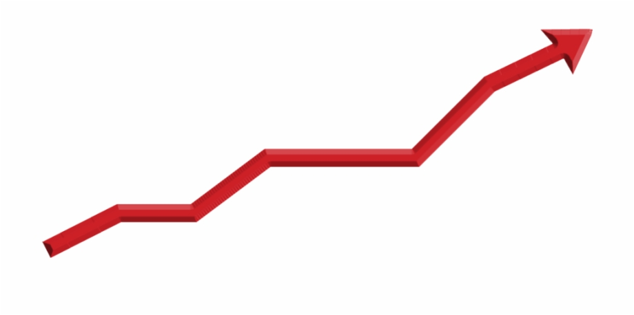 Stock Market Graph Up Transparent Background.