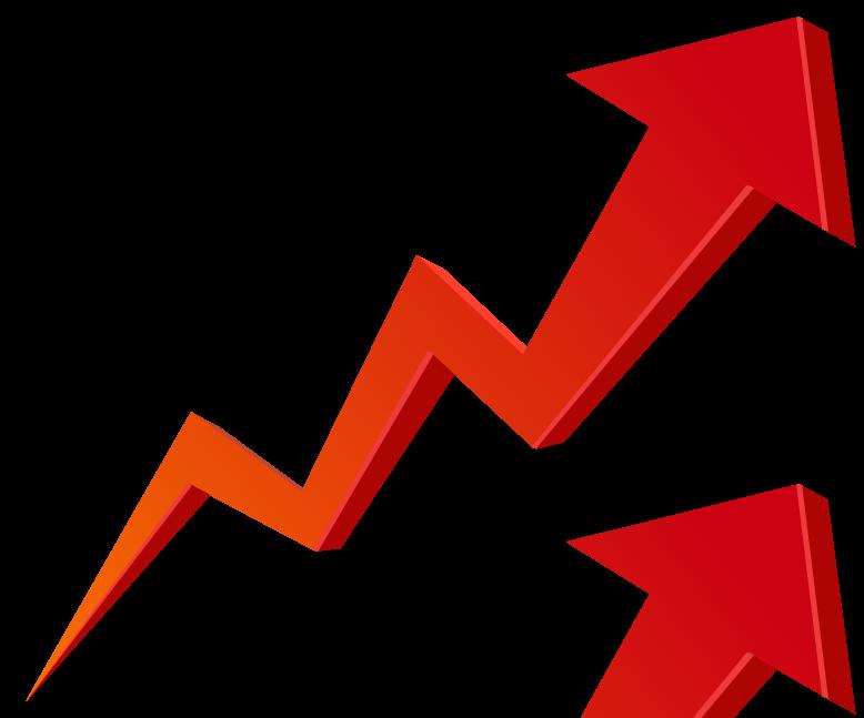 Download Stock Market Graph Up PNG Transparent Image.