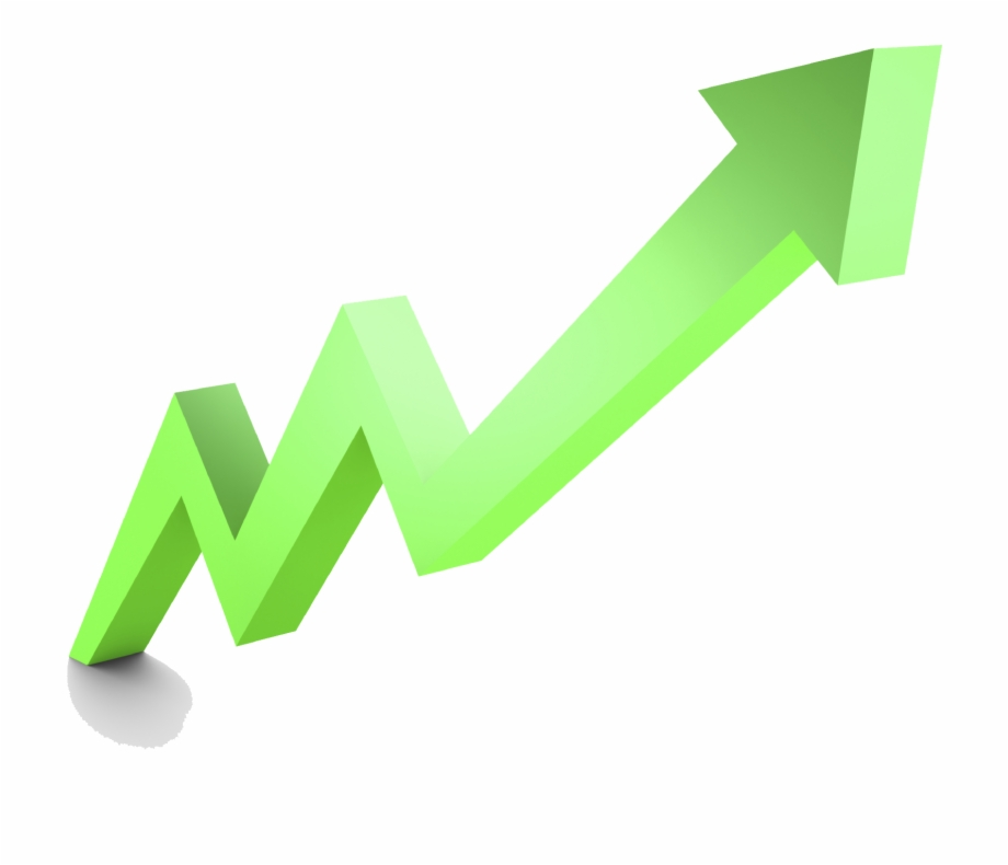 Stock Market Graph Up Png File.